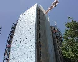 گونی نمای ساختمان